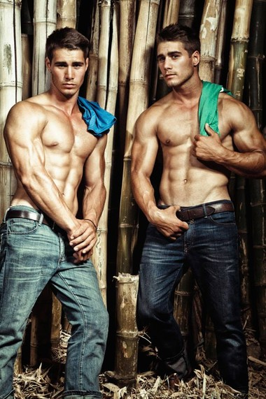 Your Hunk of the Day: Alex & Charlie Kotze