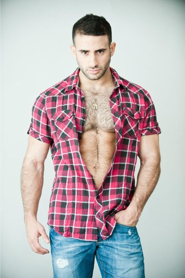 Your Hunk of the Day: Eliad Cohen